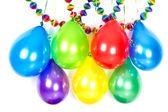 balónky a věnce. barevné party dekorace