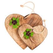 fa szív való clover levelek
