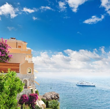 Beautiful mediterranean landscape.