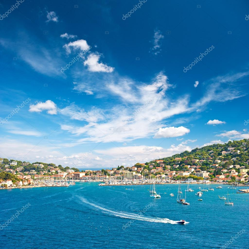 Beautiful mediterranean landscape