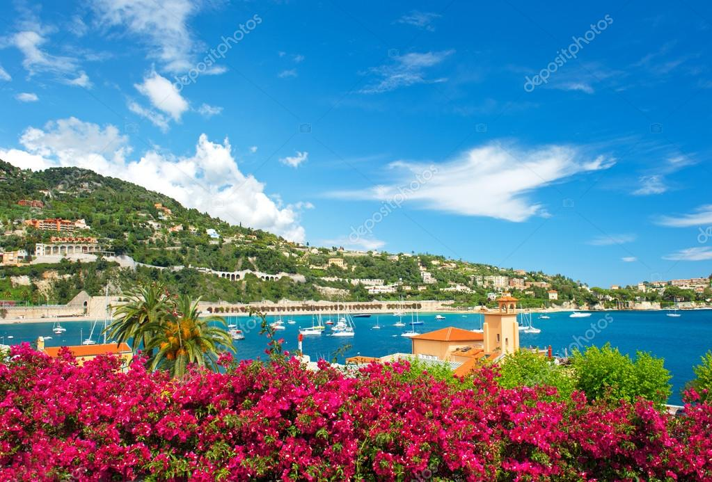 beautiful mediterranean landscape. french riviera