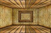 grunge místnost interiér s vinobraní tapety