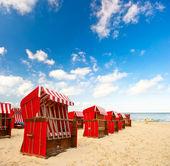 Typische Szene an der Ostsee