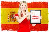 Fényképek spanyol nyelv tanulás fogalma