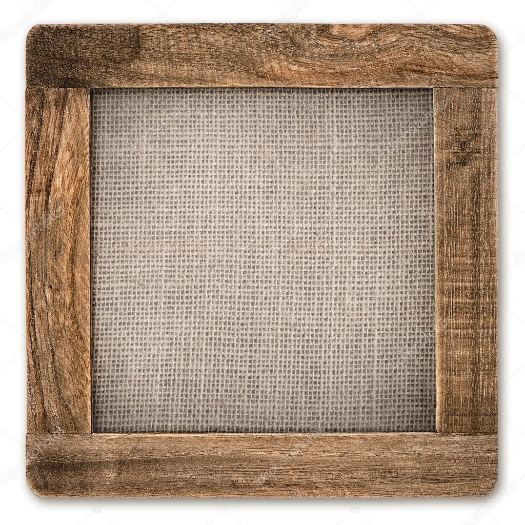 marco de madera rústica Vintage — Foto de stock © LiliGraphie #31259777