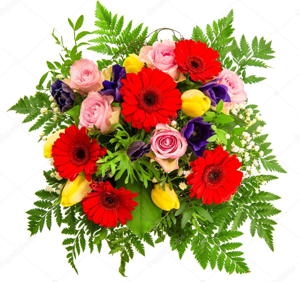 Bouquet of spring flowers — Stock Photo © LiliGraphie #31264537