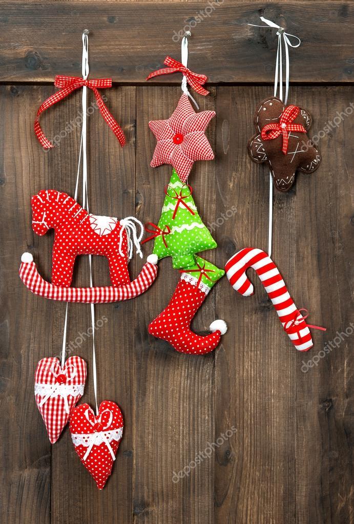 Boże Narodzenie Dekoracji Ręcznie Robione Zabawki Wiszące