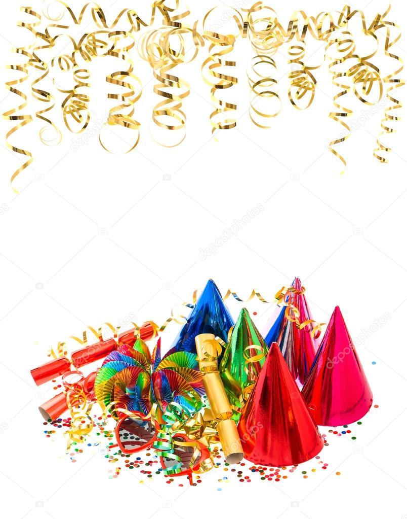 Girlanden Luftschlangen Konfetti Karneval Geburtstags Party