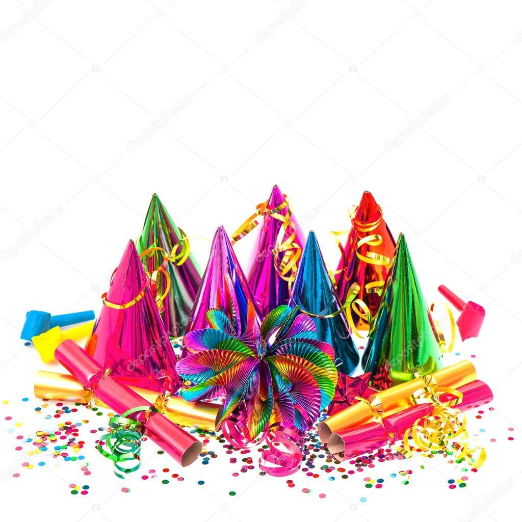 Karneval Party Dekoration Girlanden Luftschlangen Und Konfetti