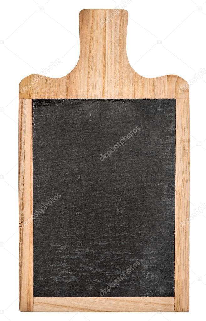 Consiglio cucina con lavagna per il tuo testo — Foto Stock ...