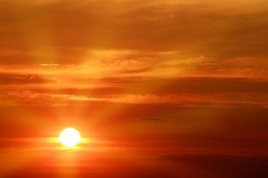 "Картина, постер, плакат, фотообои ""прекрасный восход солнца над морем "", артикул 13775810"