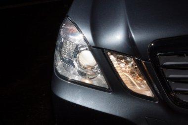 Head light mercedes E class
