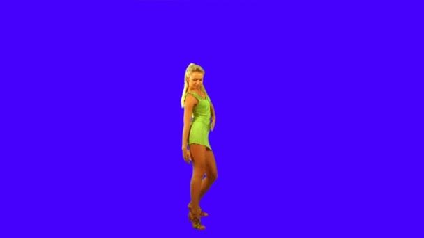 Tančící dívka