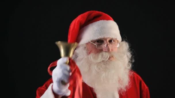 Santa klingelt Glocke