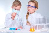 Fotografia scienziati bambini
