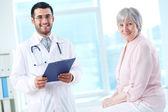Fotografie Doctor and patient