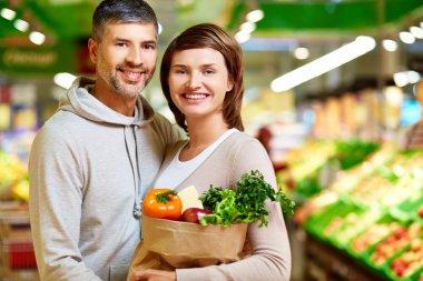 Healthy food eaters