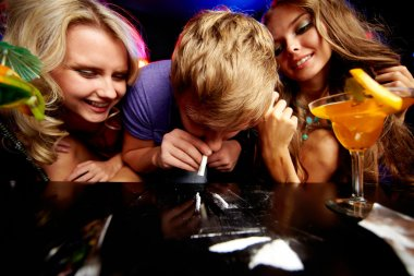 Addicted to cocaine