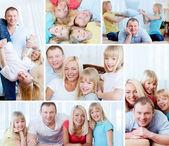 Fotografie rodina doma