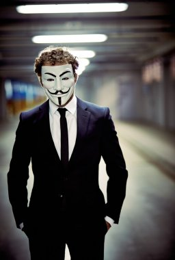 Mysterious anonym