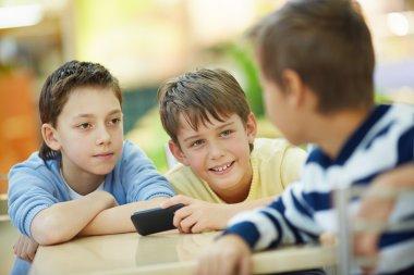 Communicating boys