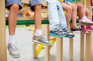 Legs of kids