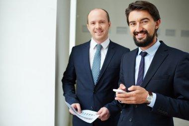 Elegant businessmen