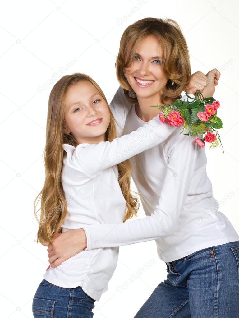 Mom And Daughter Bedroom Ideas: Stock Photo © Zaretskaya #13296641