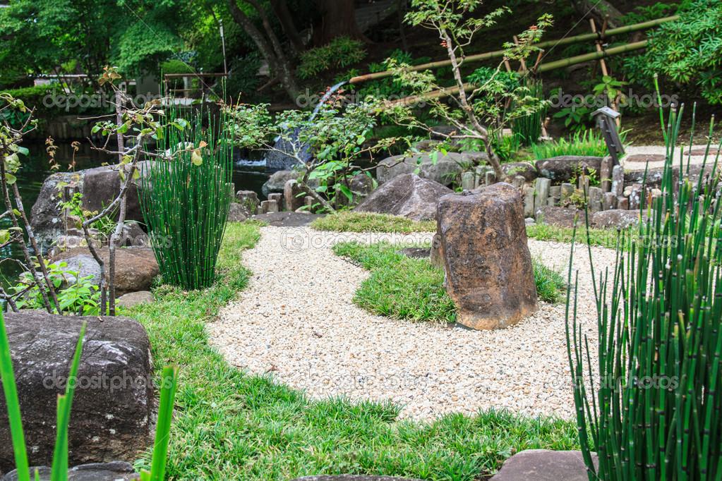 Japanese Style Garden U2014 Stock Photo #41653769