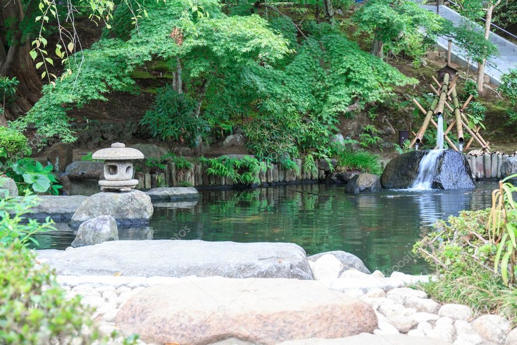 Jard n de estilo japon s foto de stock suksao 41653779 for Jardin estilo japones
