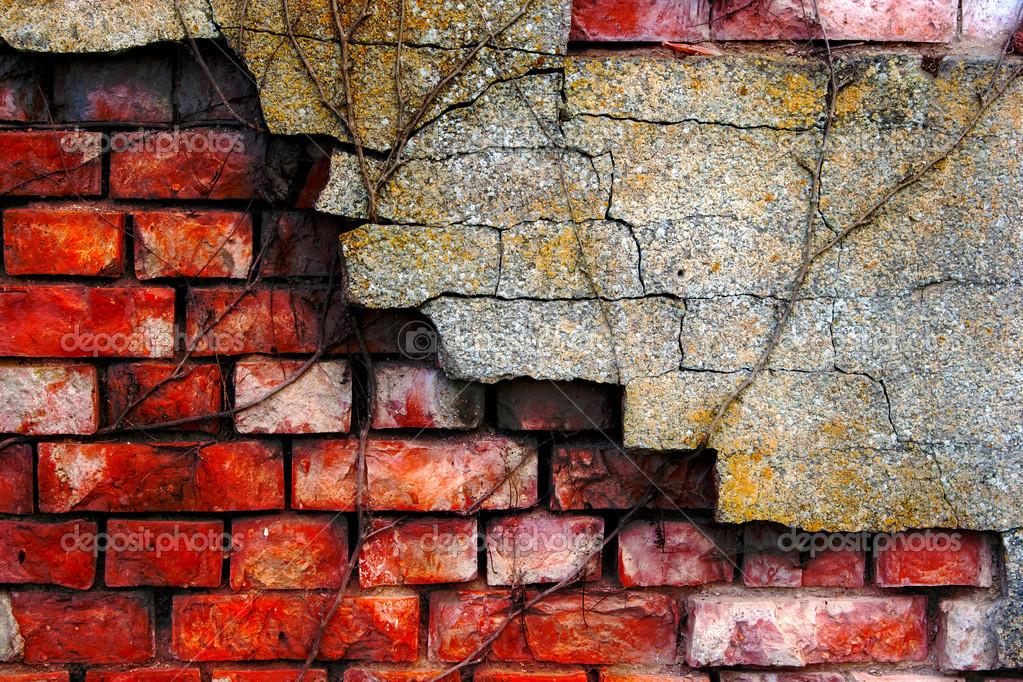 рассказов кирпичная стена рисунок красками условие расстояние между