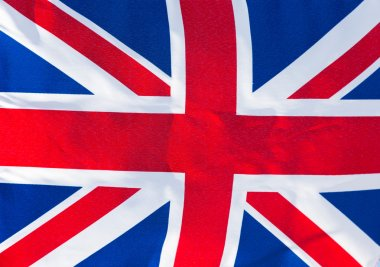 Flag of England in wind
