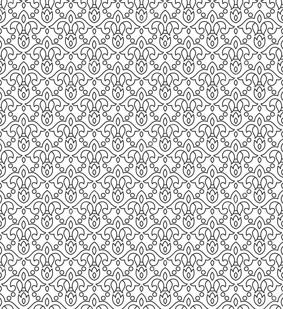 seamless-designer wallpaper — stock vector © malkani #18332621