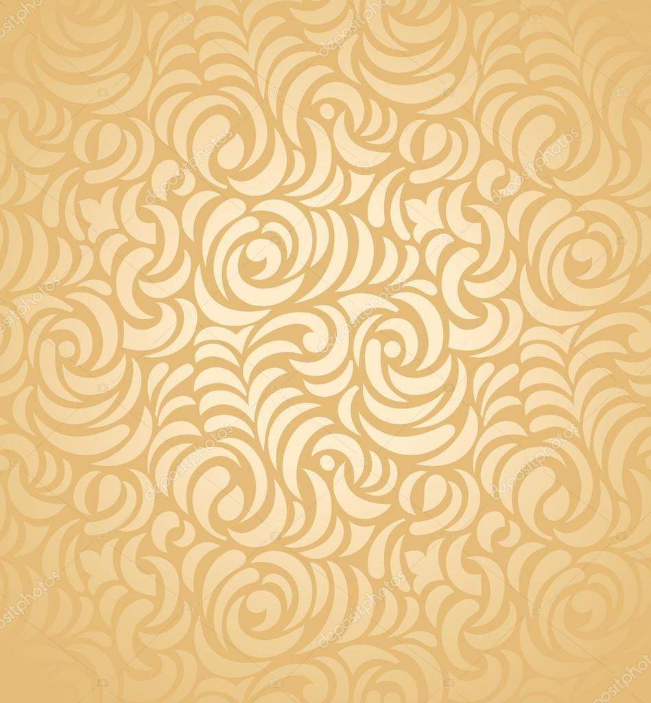 Seamless Golden Wedding Card Background Stock Vector C Malkani 21651675