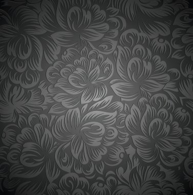Royal floral wallpaper