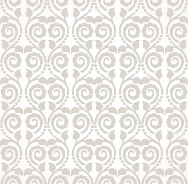 Traditional seamless wallpaper design
