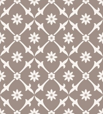 Seamless royal flower wallpaper