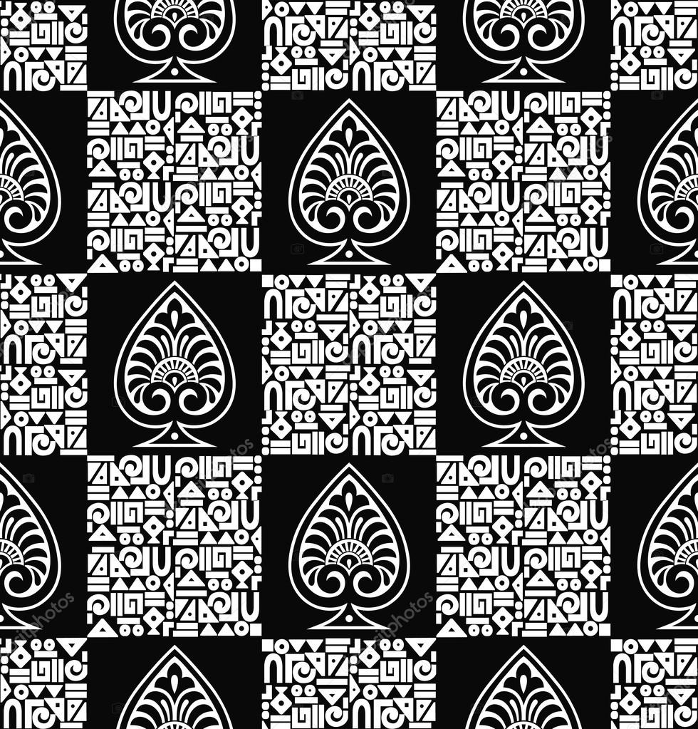 Fancy Seamless Vector Wallpaperpattern By Malkani