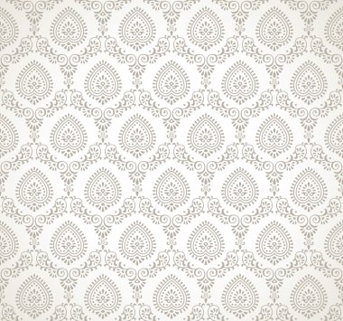 Vector seamless traditional wallpaper