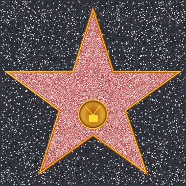 Star Television receiver (Hollywood Walk of Fame)