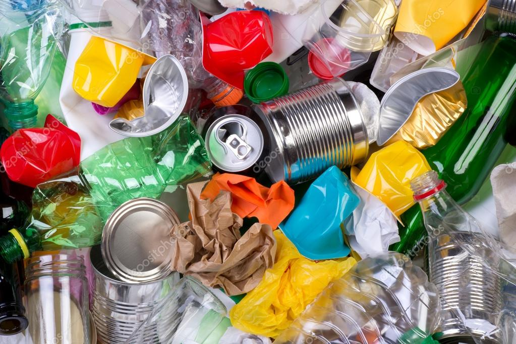 Rubbish that can be recycled