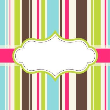 frame design for greeting card