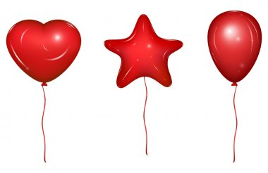 Set of Vector Baloons
