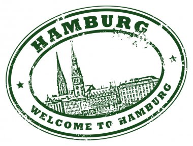 Hamburg stamp