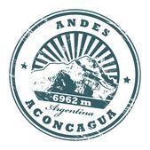 Mount Aconcagua stamp