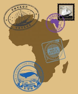 Stamps of theme Africa