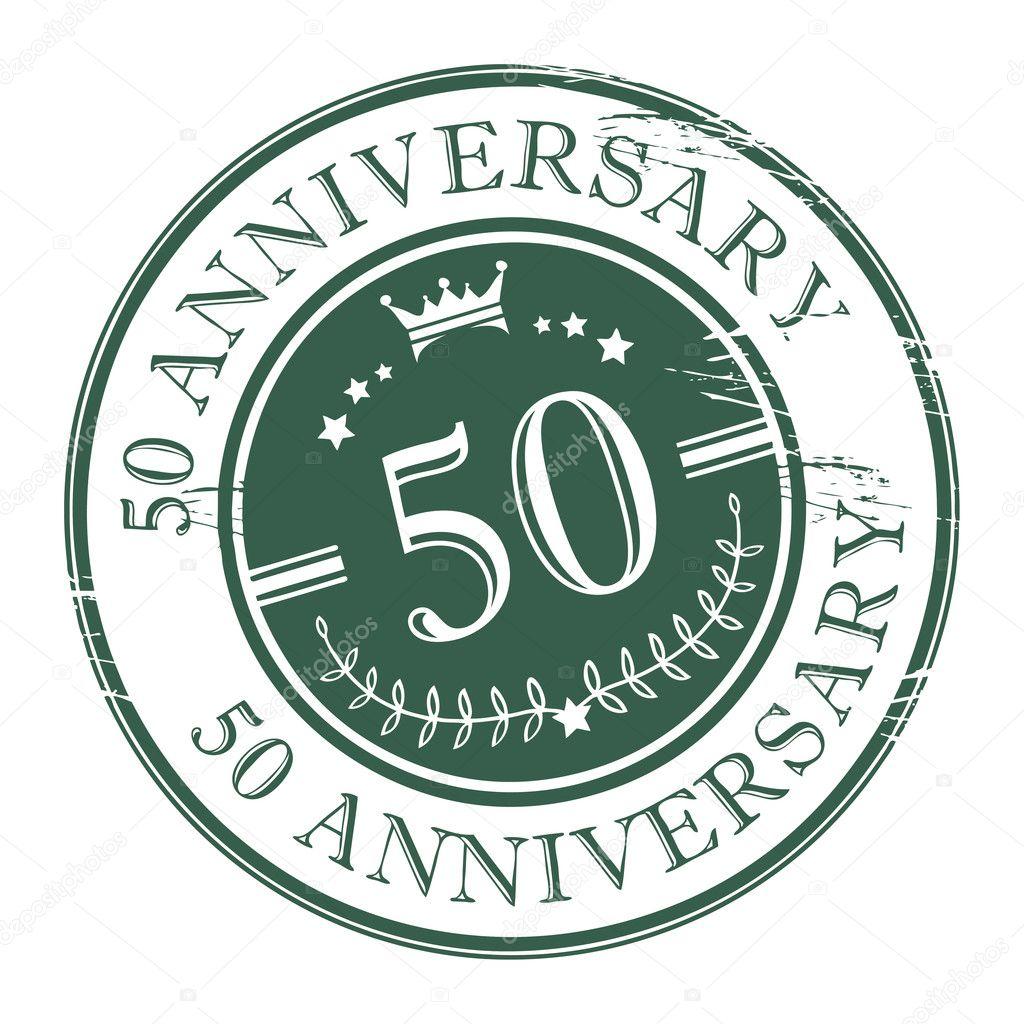 stempel 50 jaar stempel 50 verjaardag — Stockvector © _fla #13267310 stempel 50 jaar