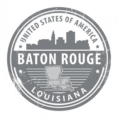 Louisiana, Baton Rouge stamp