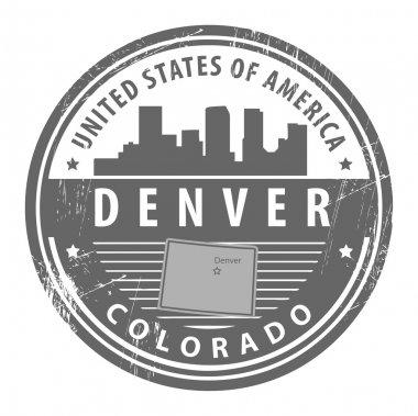 Colorado, Denver stamp