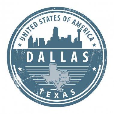 Texas, Dallas stamp